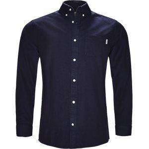 L/S Dalton Shirt Regular | L/S Dalton Shirt | Blå